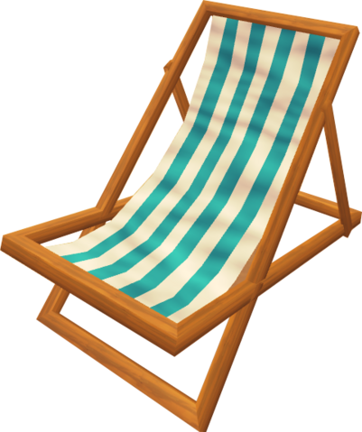 File:Deck chair (blue).png