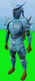 Elite sirenic armour set (ice) equipped