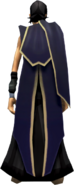 Faceless Assassin Cape (blue) equipped