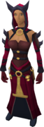Imphide robes (female) equipped