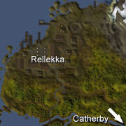 Rellekka location