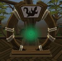 Swamp lizard portal