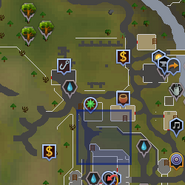 Ancient relic (Lumbridge) location