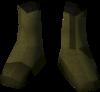 Colonist's shoes (orange) detail