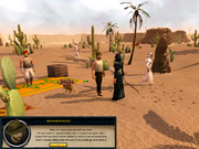 Desert Treasure start