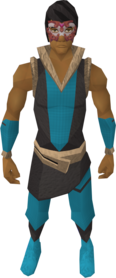 Masquerade mask equipped (male)
