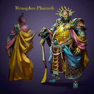 Menaphos Pharaoh concept art