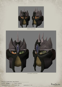 Slayer helmet concept art