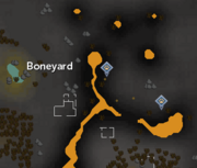 Boneyard Hunter area map