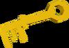 Dusty key detail