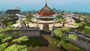Grand Exchange eastern entrance
