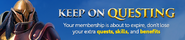 Keep on questing lobby banner