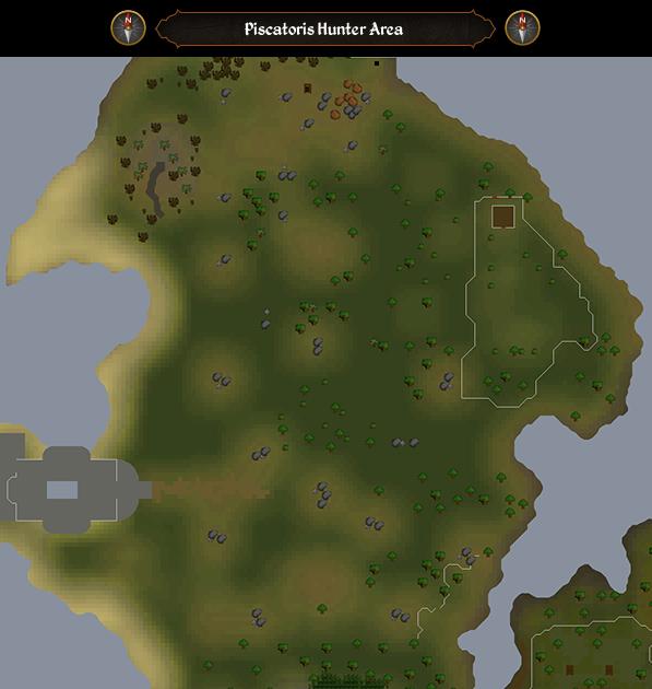 Piscatoris Hunter Area scan