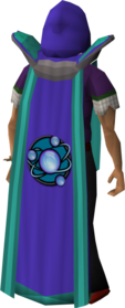 Retro divination cape (t) equipped