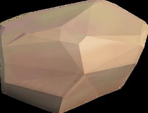 Sandstone boulder (big)