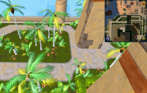 Scan clue Menaphos Imperial district north of Grand Library pyramid