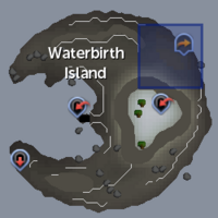 Waterbirth Teleport location