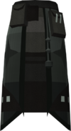 Akrisae's robe skirt detail
