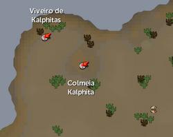 Colmeia Kalphita mapa