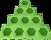 Dense honeycomb detail