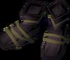 Farmer's boots detail