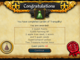 Garden of Tranquillity/Quick guide