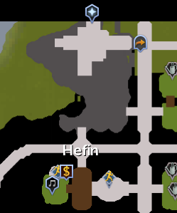 Hefin Clan map