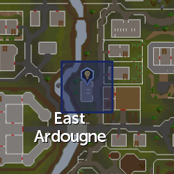 Inventor's workbench (Ardougne) location
