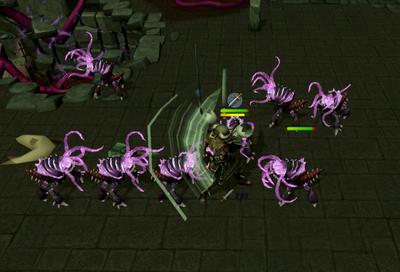 Killing Abyssal demons