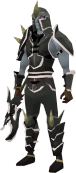 Lucky Dharok the Wretched's equipment equipped