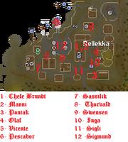 Os desafios de Fremennik mapa 1