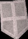 White kiteshield detail old