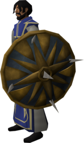Aten (Heru's shield) equipped