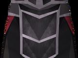Black plateskirt