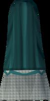 Colonist's skirt (green) detail