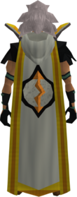 Retro hooded runecrafting cape (t) equipped