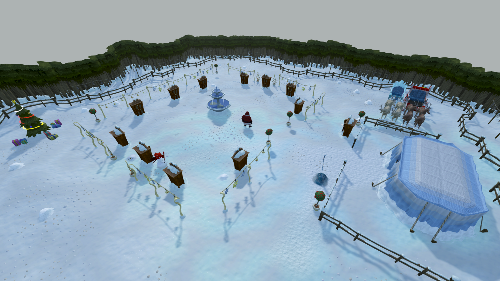 Santas Christmas Neighbourhood Runescape Wiki Fandom Powered By