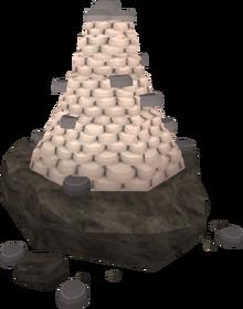 Tribute stone complete