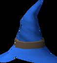 Wizard hat (blue) detail