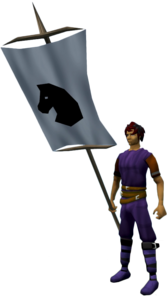 Banner (Horse) equipped