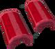 Crimson crescent key detail