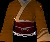 Eastern kimono (orange) detail