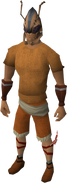 Kalphite greathelm equipped