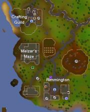 Melzar map