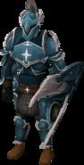 Saradomin armour set (lg) equipped