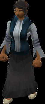 Saradominist priest's wife