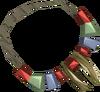 Split dragontooth necklace detail