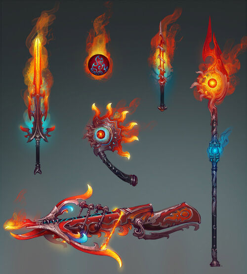 Weapons of Fire concept art