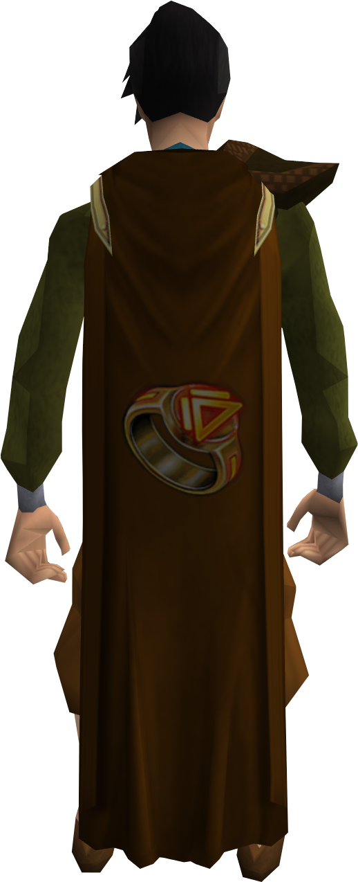 Dungeoneering cape equipped