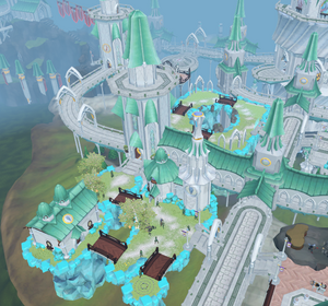 Prifddinas Amlodd district